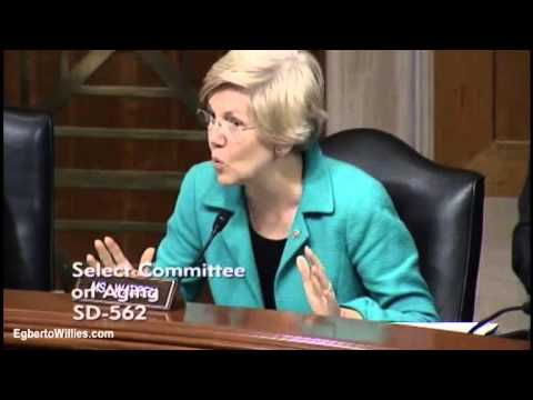 Elizabeth Warren drills Chief Business Officer For Federal Student Aid Student Loans