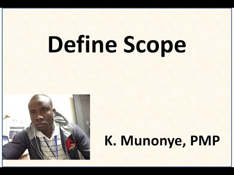 9 Project Scope Management   Define Scope