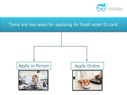 How to apply for Voter ID card - Offline (Shortest Video)