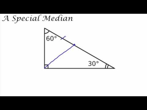 Medians and Right Triangles