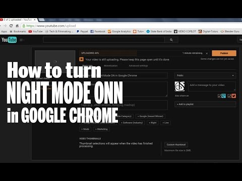 Enable Night Mode in Chrome | hacker vision