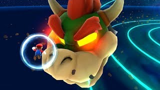 Super Mario Galaxy - All Final Castles