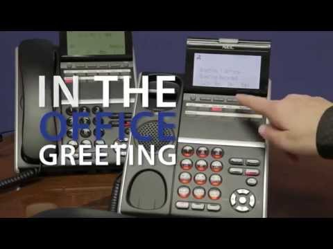 How to Change Your Active Voicemail Greeting on NEC Business Telephone Systems - ServiceMark Telecom