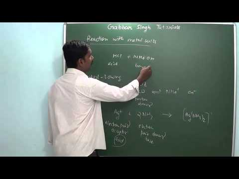 1.12 Nitrogen and its compounds (s and p block elements) (Chemistry - Class 11 & Class 12)