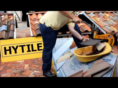 Cutting roof tile HYTILE compilation