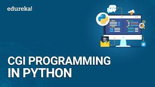 Python CGI Programming Tutorial | How to run CGI Programs in Python | Python Training | Edureka