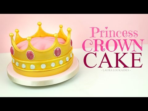 How to Make a Princess Crown Cake - Laura Loukaides