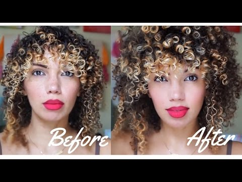 HOW TO STYLE FINE/THIN CURLY HAIR (LOW DENSITY CURLS) FOR THICKER LOOKING HAIR