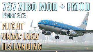 Xplane 11:Zibo 737 KDTW detroit to KORD chicago, heading to
