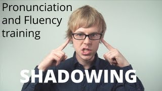 English Speaking Practice | How to improve your English Speaking and Fluency: SHADOWING