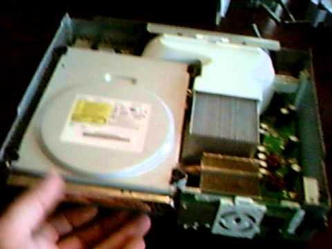 Change xbox 360 disk drive