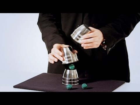 How to Do the Classic Cups & Balls Trick | Magic Card Flourishes