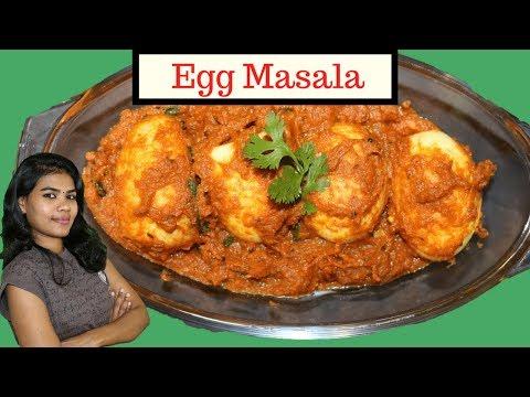Egg Masala Curry Recipe | Anda Curry Recipe or Egg Curry