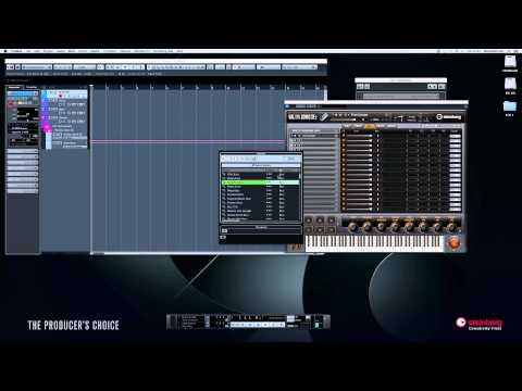Steinberg Cubase - USB Keyboard Set-up, Midi Tracks & VST Instruments