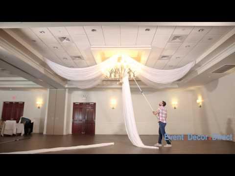 Prefabricated Ceiling Drape Kits Instructional Video