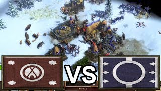 Aklak vs Age of Empires 3's Expert AI set to +100% Handicap
