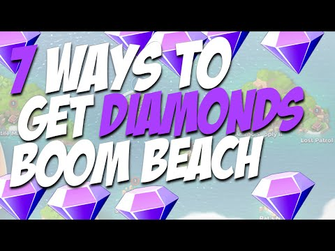 How To Get Free Diamonds In Boom Beach (7 Ways & In Game) No Survey No Apps No Jailbreak!