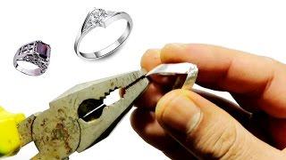 فكرة حصرية لاصلاح خواتم الفضة اذا انكسرت لك وكيفية تنظيفها