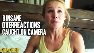 8 Insane Overreactions Caught On Camera - The Spit Take
