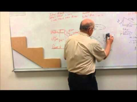 How to Find Stringer Length Using Pythagorean Theorem