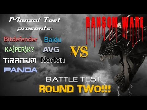 [Battle Test] Round 2 - 7 Antivirus VS Ransomware