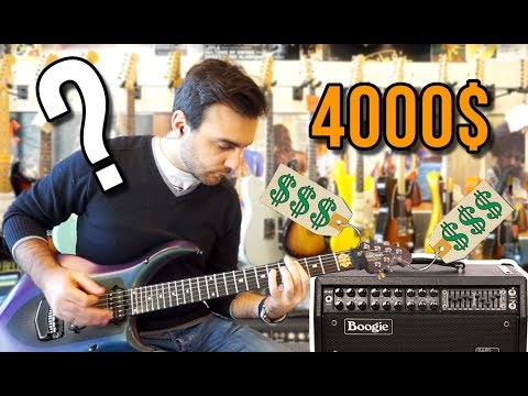 Expensive Guitar VS Expensive Amp