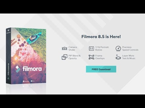 Filmora 8.5 Released with 8 Amazing New Features