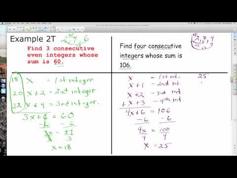 Unit 1 Lesson Topic 8 Equations and Problem Solving