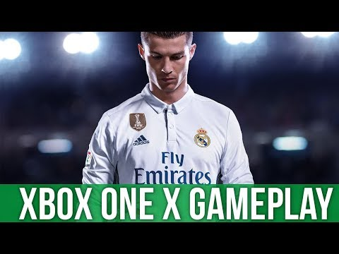 Fifa 18 - Xbox One X Gameplay (Gameplay / Preview)
