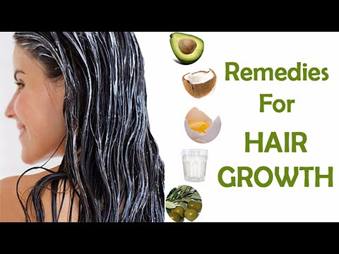 Home Remedies for Hair Growth | How to Speed up Hair Growth