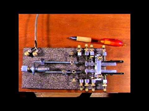 Fully Automatic Telegraph Key - Both Dots and Dashes Mechanically - Key 23 by WB2QLL