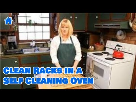 Kitchen Cleaning : How to Clean Racks in a Self Cleaning Oven