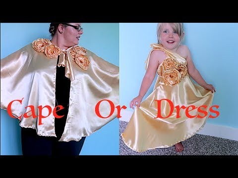 How To Make A Beauty And The Beast Cape Or Dress!