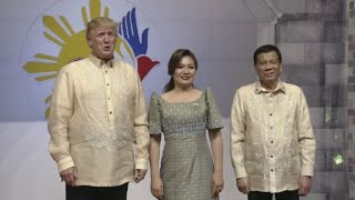 Trump meets Duterte in Manila for ASEAN gala dinner
