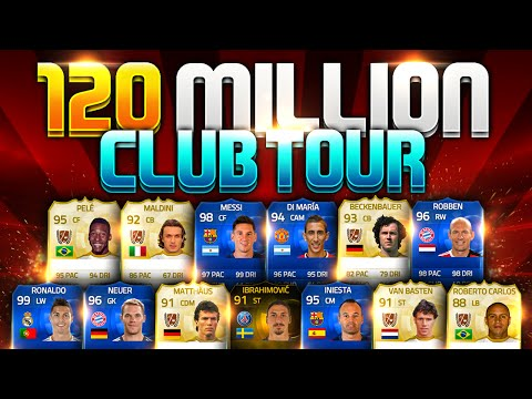 Most Expensive Club Tour 200+ Million Coins In History Fifa 15 Ultimate Team