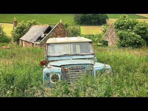 Abandoned farmers cottage, Scotland