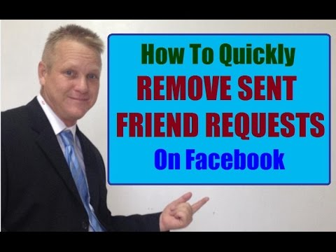 How to Quickly Remove Old Facebook Friend Requests