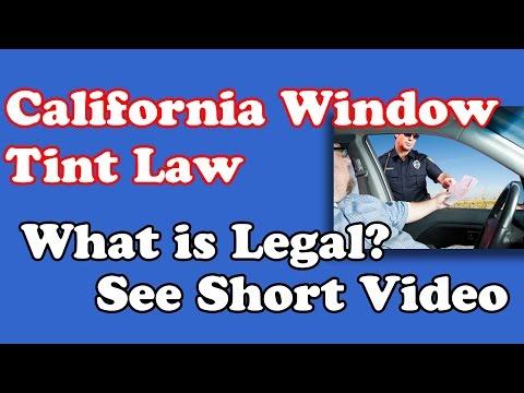 Window Tint Laws in California   Acme Tinting