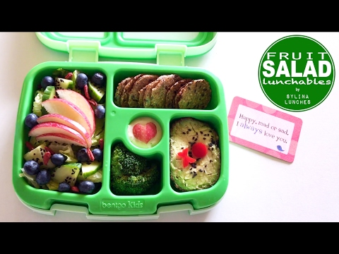 School Lunch Ideas - Fruit Salad Lunchables