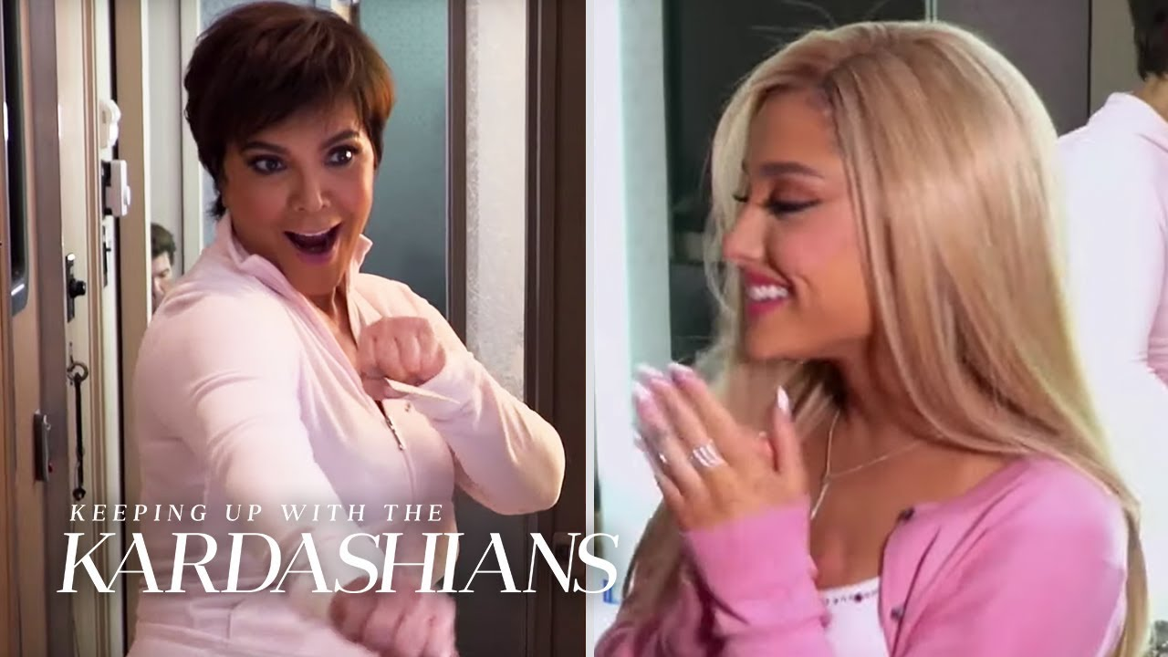 "Ariana Grande Makes Her ""KUWTK"" Debut 