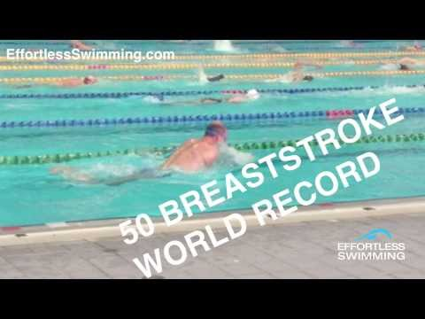 How To Swim A Faster 50 Breaststroke