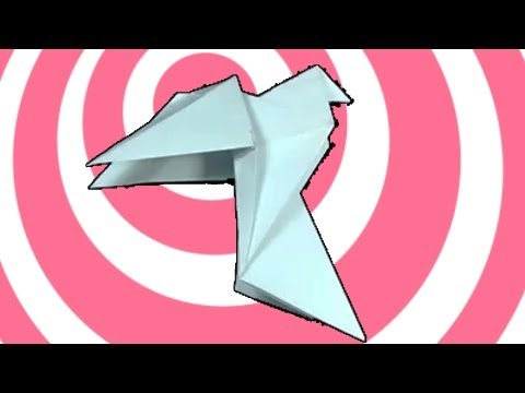 Traditional Origami Pigeon (Dove) Instructions