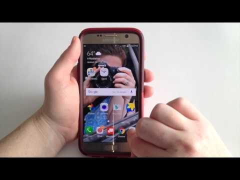 Samsung S7: Changing Wallpaper