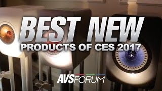 The Best New Audio Products of CES 2017: Klipsch Forte Mark III, ELAC Adante, KEF LS50 + More