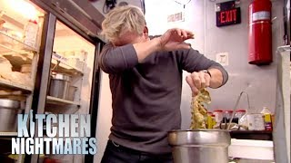 Overstocked Fridge Goes To A New Level | Kitchen Nightmares