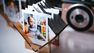 Custom Display and Sorter for Instax Instant Film
