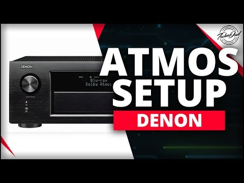 Denon AVR-X4400H Unboxing & Dolby Atmos Setup 5.1.4 & 7.1.2