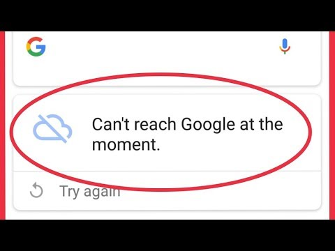 Fix Google Search Issue    Can't reach Google at the moment. Error Problem Solve In Android
