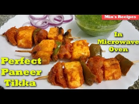 Perfect Paneer Tikka Recipe in Microwave - How to make Masala Paneer Tikka in IFB 20SC2 Microwave