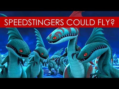 Speedstingers could FLY? THEORY [How to Train Your Dragon l Race to the Edge]
